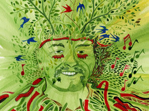 The Greenman Man