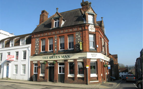Green Man, Winchester, Hampshire
