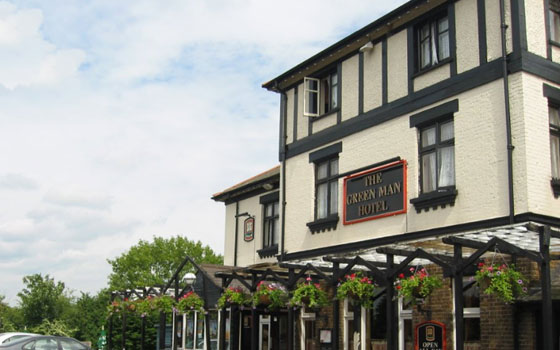 The Green Man Hotel Wembley, Middlesex