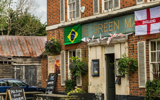 Green Man, Bracknell, West Berkshire
