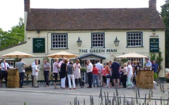 The Green Man, Witham, Essex