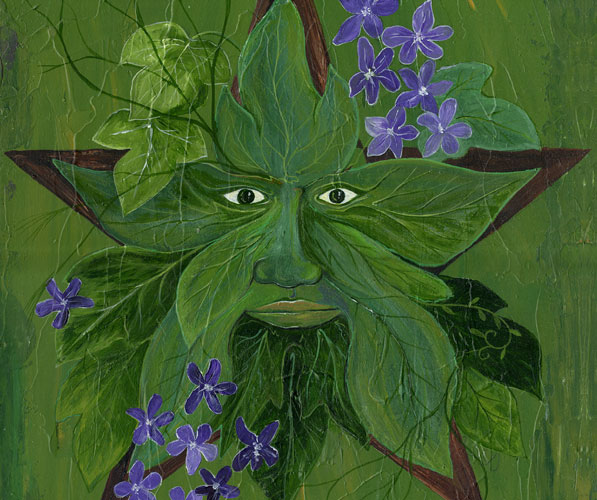 Greenman: The Kiss of Spring