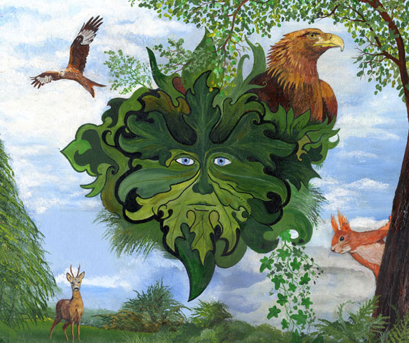 Greenman: The Woodland Guardian